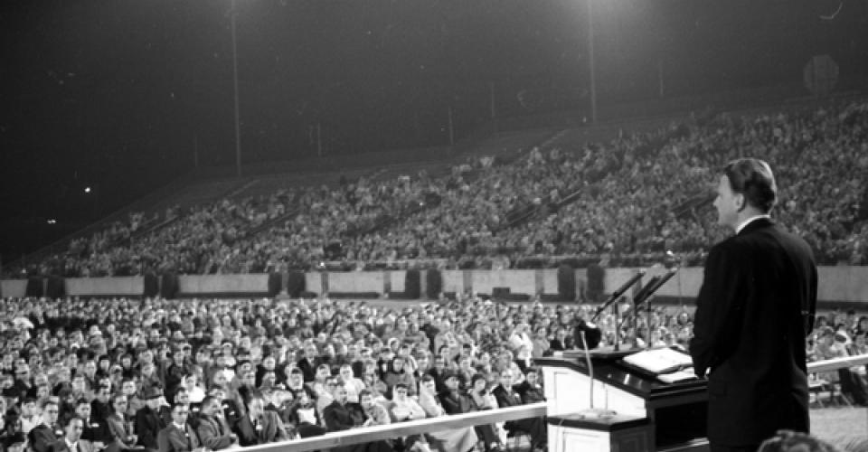 Image of Billy Graham revival