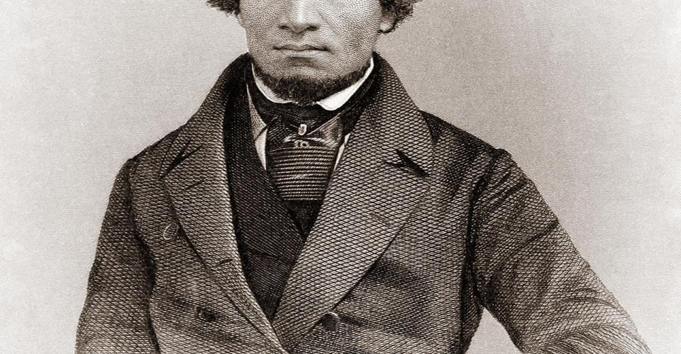 Photograph of Frederick Douglass as a young man